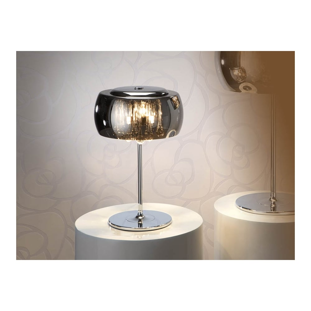Schuller Argos Smoked Oval Glass Dome