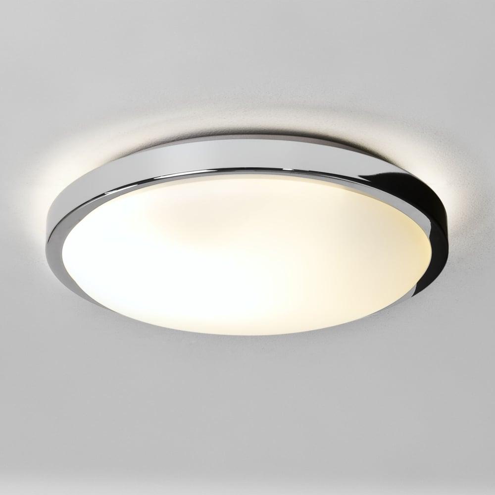 Astro 1134001 Denia Chrome Ip44 Bathroom Ceiling Light Ideas4lighting Sku34497i4l