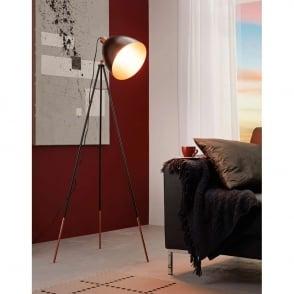 Testrite Fotolite Lighting Stand Up Floor Adjustable Lamp Unit Model 124//3