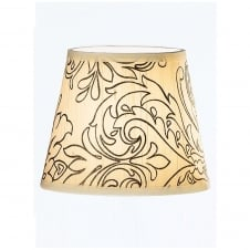 Cream Silk Candle Shade