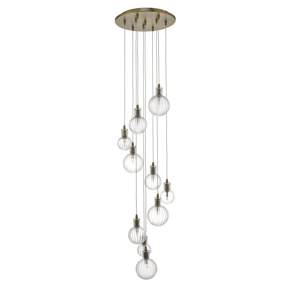 10 Light Chandelier Crystal Lighting Lights Fixture Pendant
