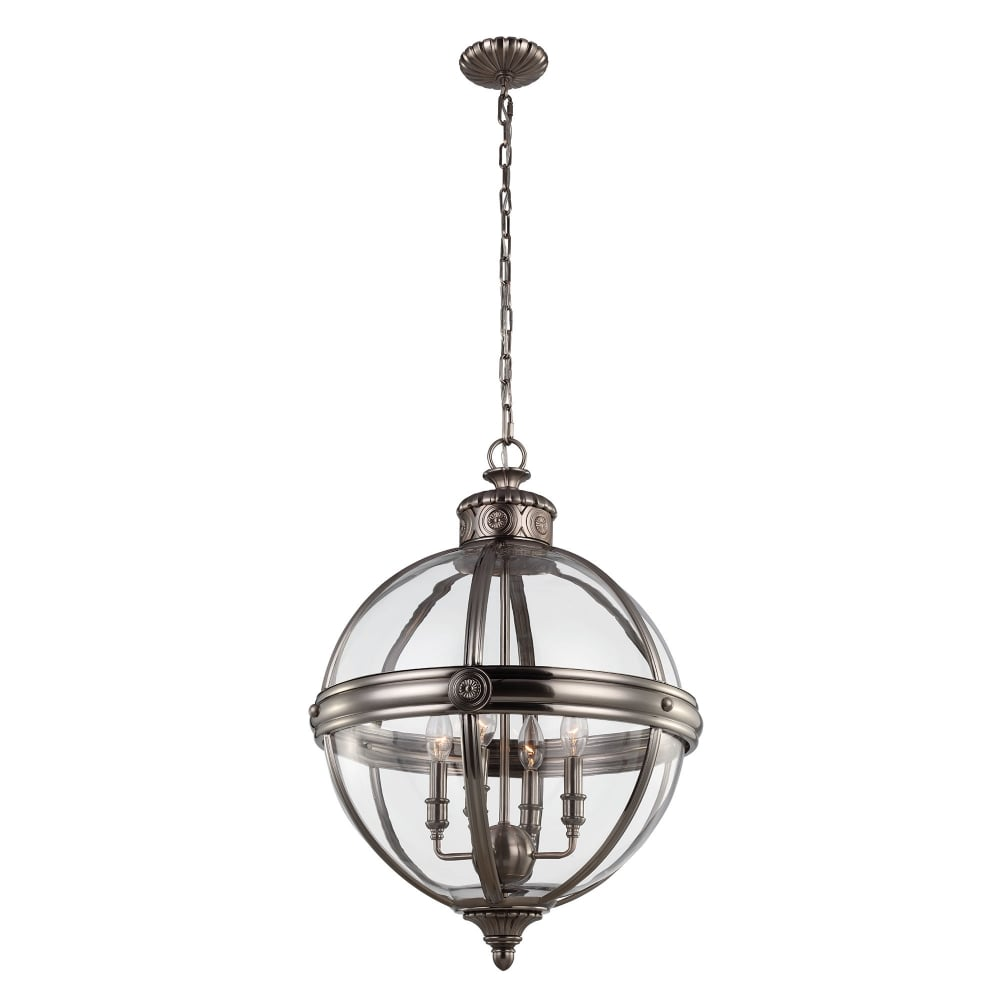 Modern Black Chandeliers with 4 light