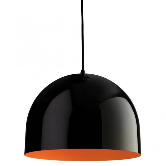 Firstlight 8624BKOR Art Deco Black Ceiling Hanging Pendant ...