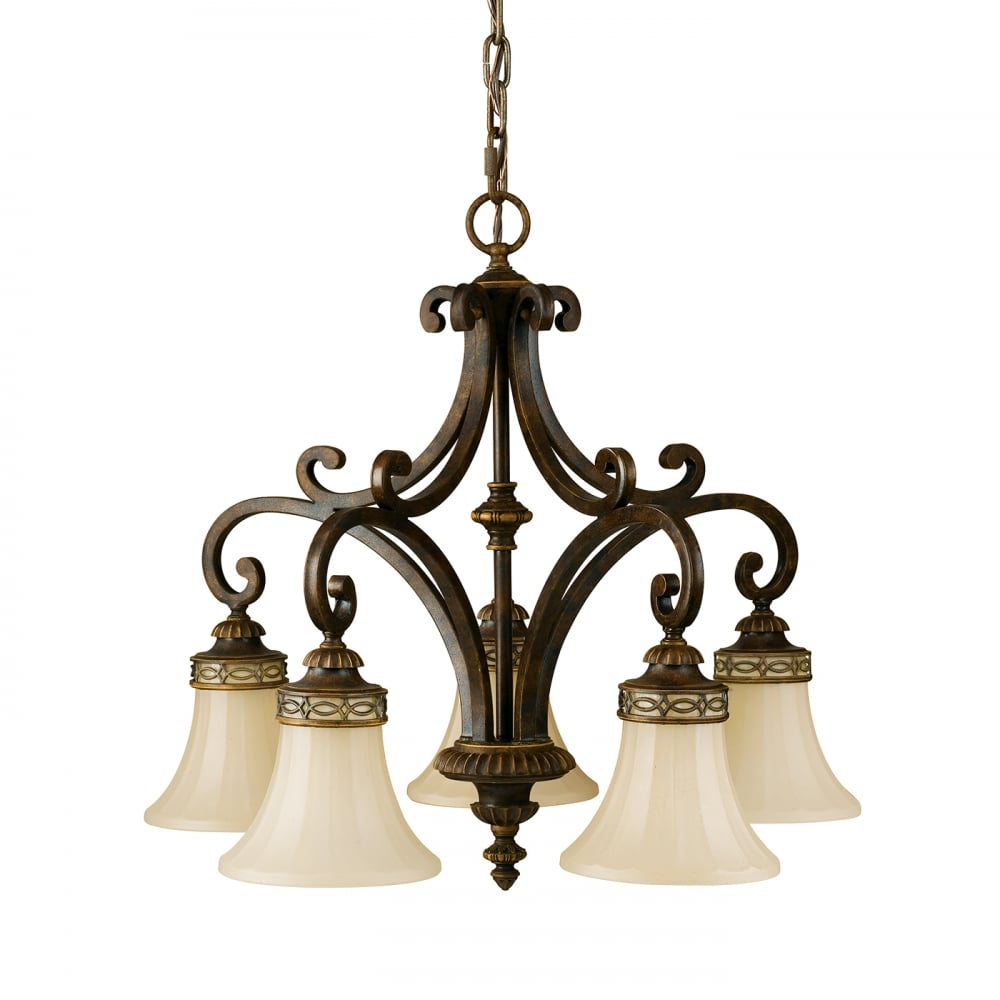 Scavo glass Chandeliers at