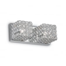 Admiral Twin Crystal Wall Cube Light
