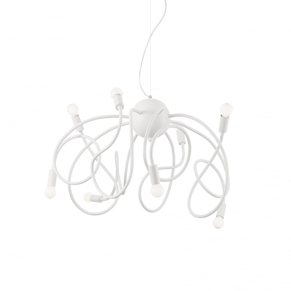 ideal lux lighting sku43690i4l multiflex sp8 bianco