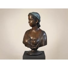 Lady Bust, Bronze