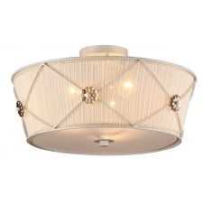 Lea Elegant Collection Ceiling lamp, White gold