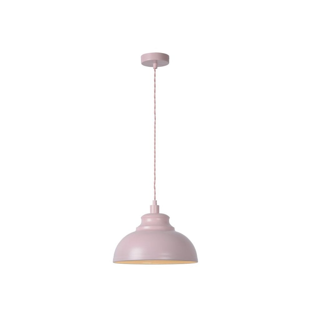 Lucide 34400/29/66 Isla Modern Round Metal Pink Pendant