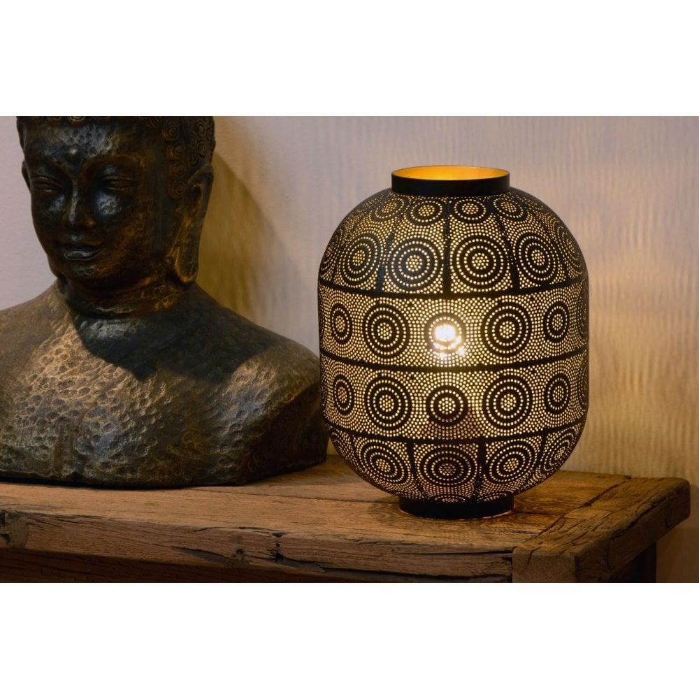 Tahar Oriental Cylinder Metal Black