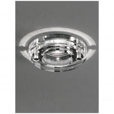LV Chrome Finish with Crystal Bathroom Downlight