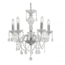 Marie Therese Crystal Clear Chandelier Lighting