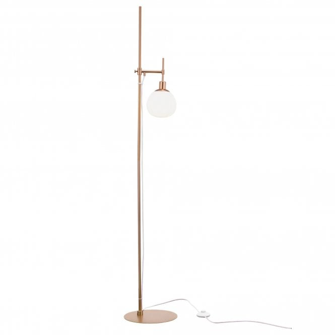 Maytoni Lighting Erich Modern Floor Lamp Cream Gold Shop By Type From Ideas4lighting Uk