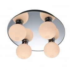 Showtime Mirror 4 Ball Ceiling Light