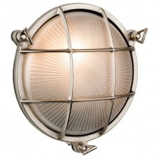 Nickel Nautical Wall Light