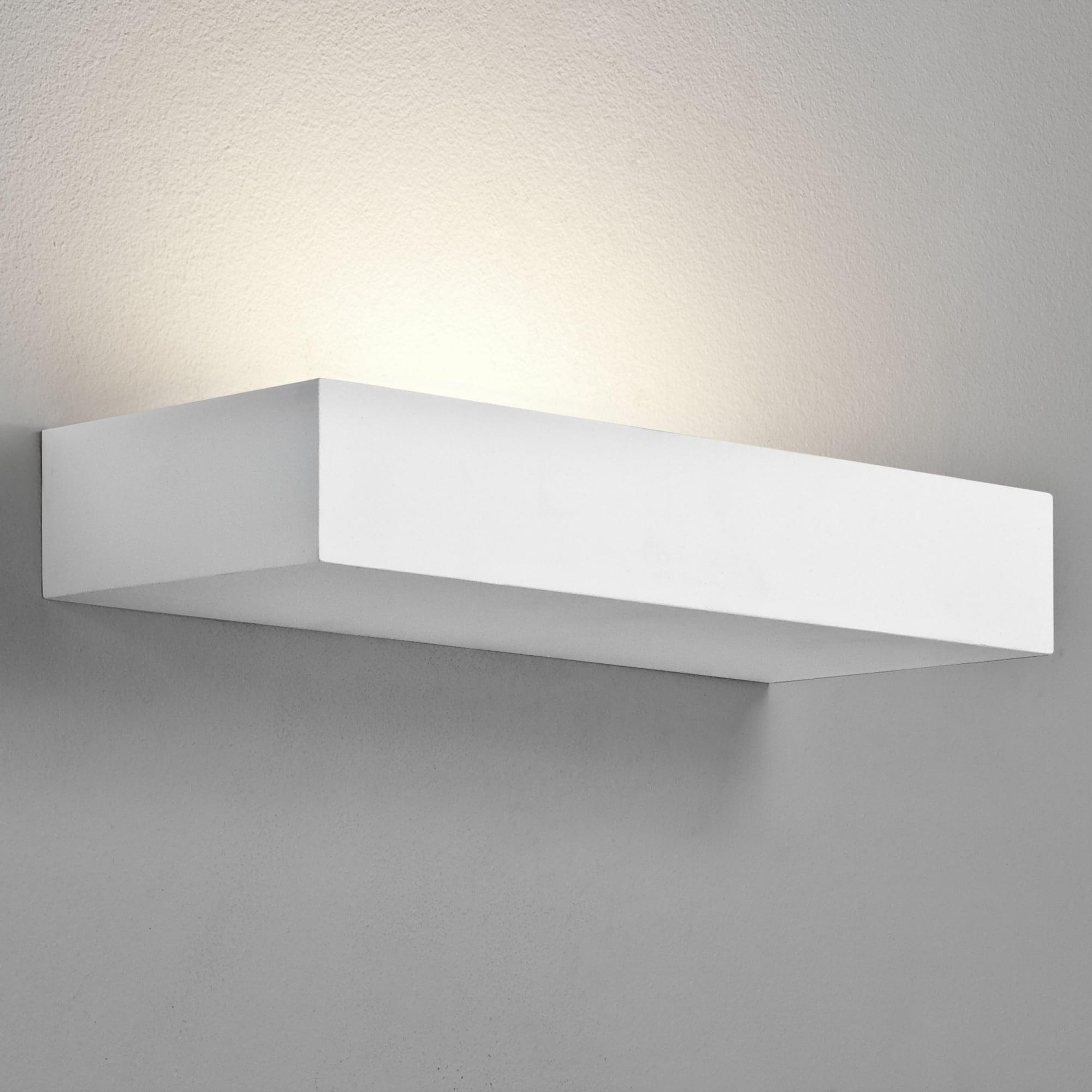 Astro 1187005 Parma Floating Shelf White Led Wall Light Ideas4lighting
