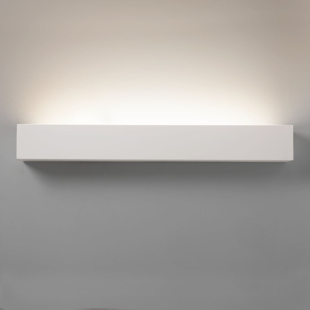 huge discount eaa10 ca4f2 Astro Parma Larger Floating Shelf White LED Wall Light