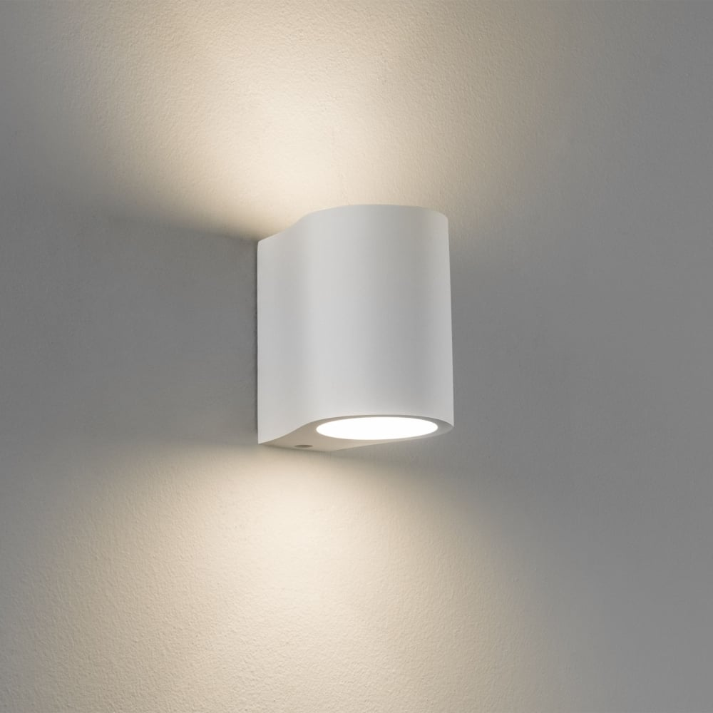 Astro Pero Up Down Dimmable Wall Light - White