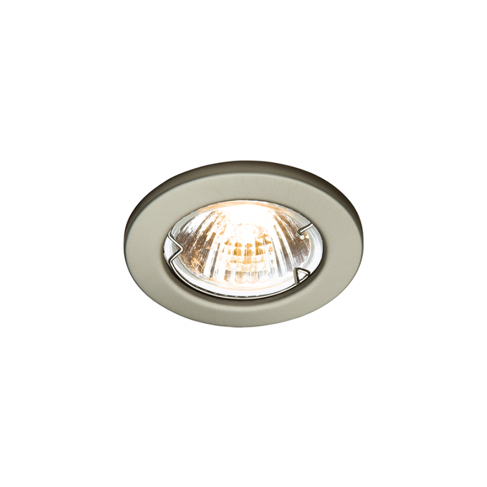 Led Robus R201ps 13 Rida 50w Gu10 Pressed Steel Downlight Ip20 Wiring Downlights Diagram 240v Brushed Chrome