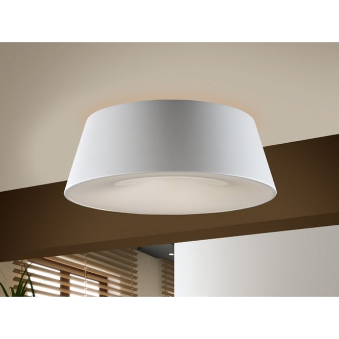 Schuller 198533 Zone White Ceiling Lamp, 4L