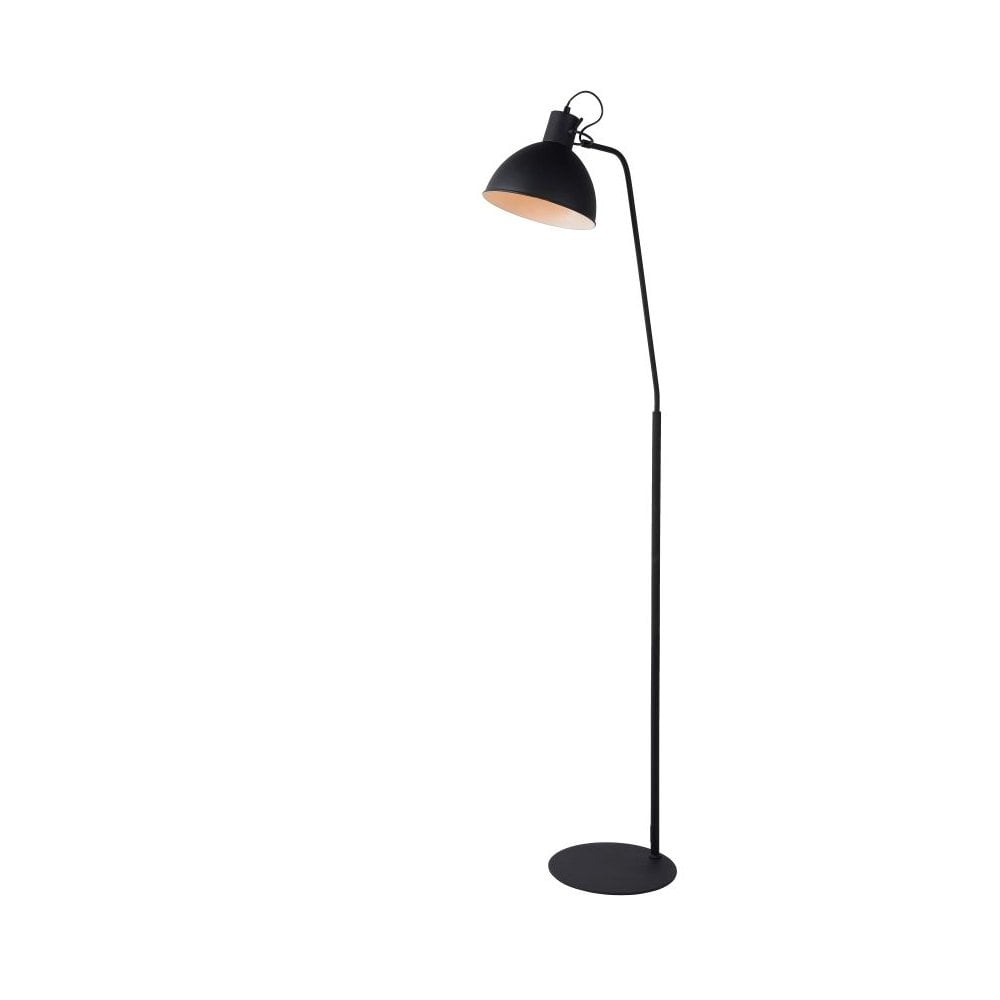 Modern Metal Black Floor Reading Lamp