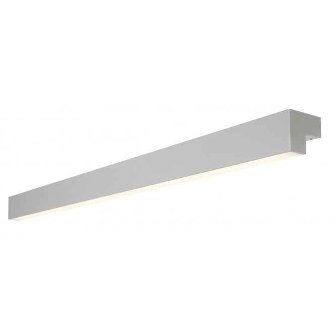 SLV L-Line 120 Led, Wall Andceiling Light, Ip44, 3000K,3000Lm, Silver