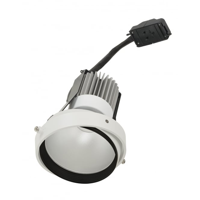 SLV Led Disk Module For Aixlightpro Installation Housing, Mattwhite, 2700K, 50°