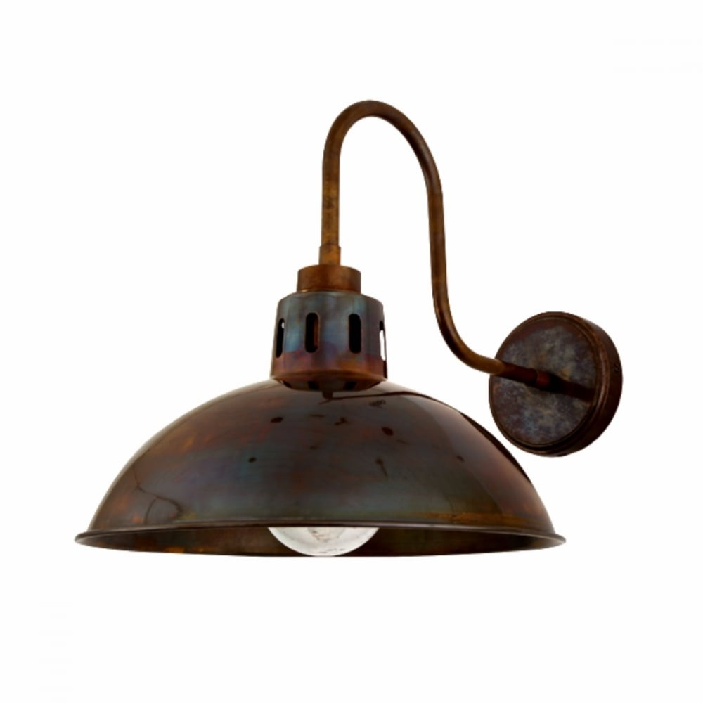 Mullan Lighting Mlbwl051pcwte Talise Rustic Industrial