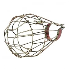 Vintage Iron Wire Bulb Cage